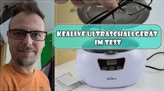 Kealive Ultraschallgerät – im Test - Susi und Kay Projekte Ich (Kay) durfte das Kealive Ultraschallgerät testen, ihr erfahrt wie immer alles im Blogbeitrag.   #Produkttest #Test #Kealive #Ultraschall #Ultraschallgerät #UltraschallReinigung #Brillenreinigung #Münzenreinigen