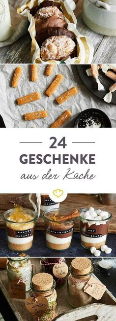 Geschenke aus der Küche: 24 köstliche Weihnachtsideen Homemade gifts are the most beautiful gifts. From Gingerbread, Gin Tonic Syrup and Mustard – these gifts from the kitchen come from the heart. Gin Tonic, Tonic Syrup, Kitchen Gifts, Diy Kitchen, Comida Diy, Spice Bread, Diy Presents, Beauty Recipe, Beautiful Gifts