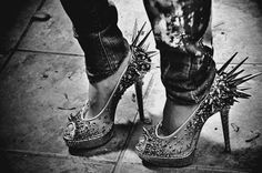 spike heels - a new trend ? #shoes #fashiontrend