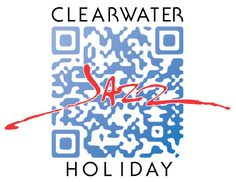 Custom QR code for the Clearwater Jazz Festival