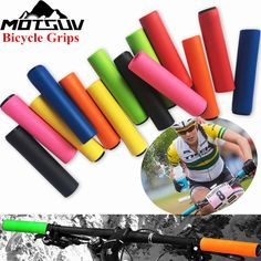 Mountain Bicycle Handle Handlebar Soft Sponge Foam Bar Grip Nonslip1 Pair Vogue