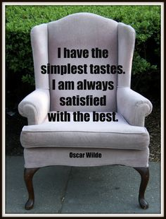 #oscarwilde Hmmm. I think me and oscar might have been kindred spirits!