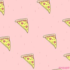 These are my favorite ones. Pizza.