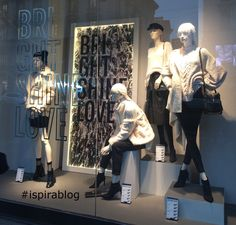 Stradivarius Milan - Winter 2017/18 - Womenswear Collection - black and white outfits with heeled shoes and black handbags 2018-01-02 #ispirablog #stradivarius