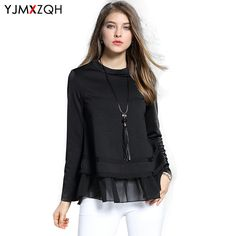 Summer Women Shirts Clothes Blouse Shirt Long Sleeve Chiffon Blusa Vintage Ruffle Top Large Size Clothing Plus Size 4Xl Korean