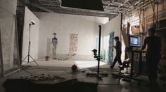 The Making of The Bigger Picture by Daisy Jacobs.  Suggest you watch as is very interesting process...