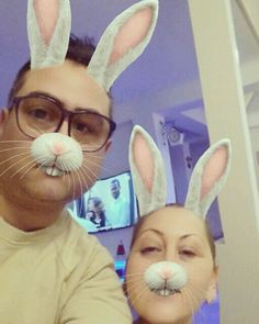 This is us ....Trendy Easter Rabbits