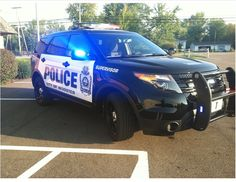 Ford Police Interceptor Utility vehicle - Wooster, Ohio Police Department. This vehicle has a complete customized upfit for use as the agency's command vehicle. Equipment integration done by Crown North America.