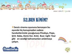çocuklar için oyun önerileri Home Activities, Infant Activities, Classroom Games, Pre School, Special Education, Games For Kids, Elementary Schools, Homeschool, Parenting