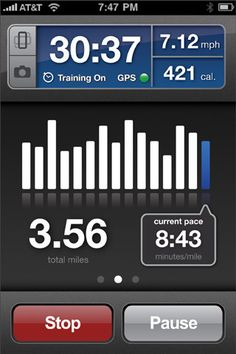 RunKeeper uses the GPS technology found in the iPhone to track your fitness activity, giving you comparable results to an expensive GPS watch. Now, you can also enter your activities manually, including your treadmill runs too!
