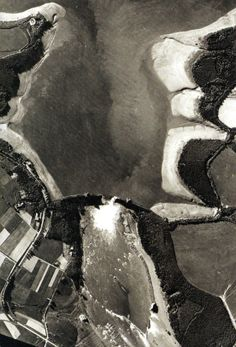 The reconnaissance photo was taken on 17 May 1943 and shows the breached Mohne Dam - -  RAF - Dambusters