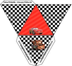 Car Themed Parties, Cars Birthday Parties, Race Car Birthday, Happy Birthday, Holiday Program, Car Themes, Paper Cake, Disney Cars, Paper Dolls