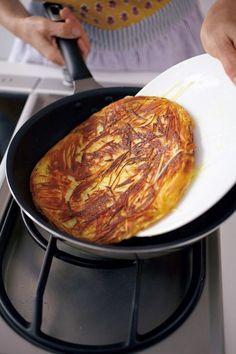 大人気! ビストロ風ポテトガレットは意外とカンタン【オレンジページnet】プロに教わる簡単おいしい献立レシピ ジャガイモ中3個分マリボーでお好み焼き大でした。 レベル3で片面6分は焼く。