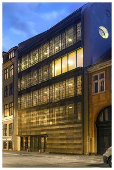Nueva sede de Trollbeads en Copenhague, Dinamarca (BBP Arkitekter) - Ganador de los Premios 2015. #CopperAwards2015