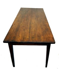 Antique French Farmhouse Dining Table | From a unique collection of antique and modern dining room tables at https://www.1stdibs.com/furniture/tables/dining-room-tables/