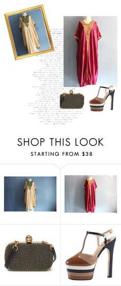 """""""CAFTAN YOSIKA /VI"""" by nura-akane ❤ liked on Polyvore featuring Alexander McQueen and Gucci"""