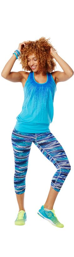 Receive 10% off of the hottest Zumba wear!  Enter ZHeather10 under savings code at check out.