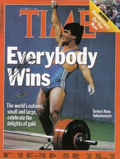 Turkey's Naim Suleymanoglu was broke world record in 1988-Seul. His name was given underground station for London Olympic Games.