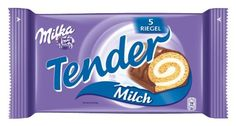 Milka Tender Milk is a delicious loosely-light cake snack: a fine cake roll filled with delicious milk cream and covered with tender Milka Alpine milk chocolate.Store cool and dry. Thanksgiving Desserts, Christmas Desserts, Desserts Without Eggs, Gourmet Recipes, Snack Recipes, Sponge Cake Roll, Milka Chocolate, Cream Cheese Desserts, Light Cakes