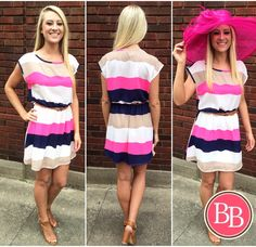 Derby is just 1 WEEK away!!! Stop by @brandisboutiqueshop for your perfect Derby outfit today!! #bbgirls #derby #oaks #dress #hat
