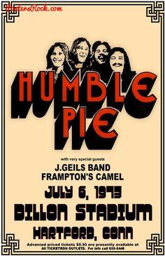 Humble Pie, J.Geils Band, Peter Frampton's Camel 1973