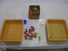 Cassie Stephens: In the Art Room: Floating Chalk Prints Preschool Art, Craft Activities For Kids, Cassie Stephens, 8th Grade Art, Paper Weaving, Art Classroom, Classroom Resources, Melting Crayons, Art Lessons Elementary