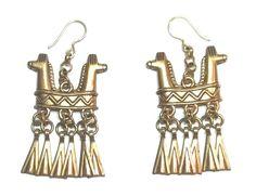 "Kalevala Koru ""Horse Head"" Earrings Horse Head, Finland, Bronze, Horses, Ceiling Lights, Earrings, Vintage, Beautiful, Jewelry"
