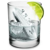 Gin & Titonic ice cube tray. Makes frozen ships and icebergs for your drink.