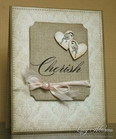 Beautiful wedding card.