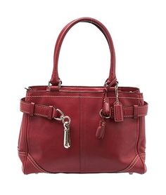 Coach Leather Zip Top Small (6651) Red Tote Bag. Get one of the hottest styles of the season! The Coach Leather Zip Top Small (6651) Red Tote Bag is a top 10 member favorite on Tradesy. Save on yours before they're sold out!