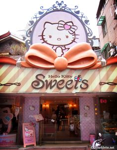 Hello Kitty Sweets Cafe in Taipei, Taiwan - HOW LONG WILL IT TAKE ME TO GET THERE!!!