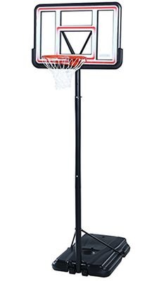 Esplic Portable Height Adjustable Basketball Hoop Stand with Backboard for Indoors Outdoors Children Kids Toy Birthday Gift