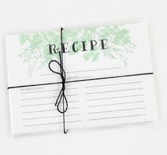 Grab these recipe cards today! They're a great gift for your favorite foodie. $12