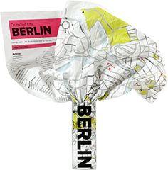 Shop // Crumpled City for Berlin. Soft city maps for urban jungles: Die cleveren Stadtpläne für Großstadtnomaden.