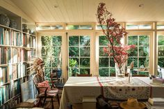A visit to author, photographer and plant lover Victoria Alexander's incredible garden house. Image by Daniel Shipp