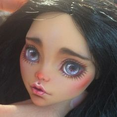 *ARTIST UNKNOWN* Who said you couldn't breathe life into a doll?