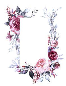 phone wall paper for men - phonewallpaper Scrapbook Background, Flower Background Wallpaper, Flower Backgrounds, Background Patterns, Wallpaper Backgrounds, Molduras Vintage, Floral Drawing, Floral Border, Border Design