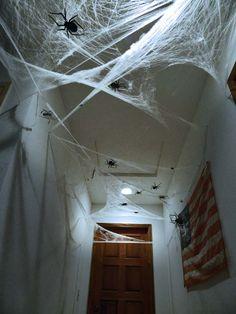 DIY Spooky Halloween Hallway