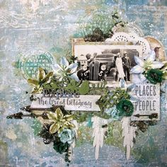 Blue Fern Studios: July inspiration by Annie Samson