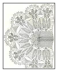 Wynik obrazu dla Овальный салфетка схема вязания