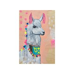 Cute Hipster Llama Collage Poster Paper Print Wall Art Living Room Home Office Decor 16 x 24 >>> To view further for this item, visit the image link.
