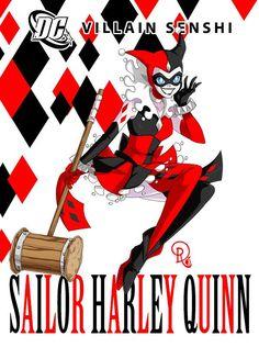 Sailor Harley Quinn Drachea Rannak Digital 2016