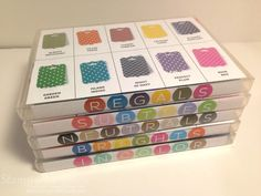 Marker Storage for Color Renovation by stampwithsandy - Cards and Paper Crafts at Splitcoaststampers