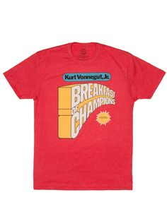 Breakfast of Champions - by Out of Print #tshirt
