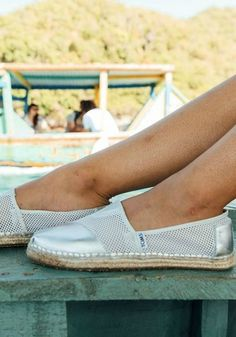 Headed to the beach? Grab your favorite pair of TOMS and you'll be good to go.