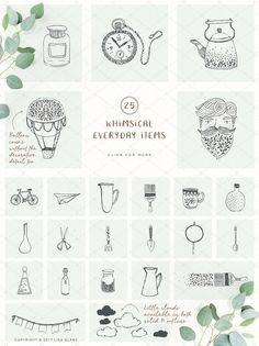 Rustic Resource Collection volume 1 by Lisa Glanz on @creativemarket #rustic #illustration #ad