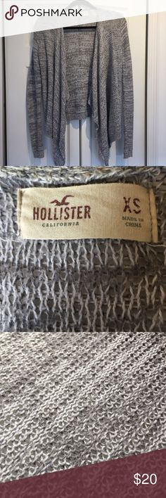 gray knitted cardigan flowy, gray, knitted cardigan from Hollister // in great condition Hollister Sweaters Cardigans