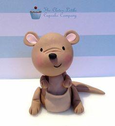 Cute Kanguru made by The Clever Little Cupcake Company. I love it!