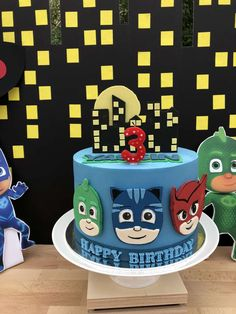 PJ MASKS Birthday Party Ideas | Photo 1 of 9
