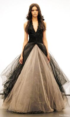 Unusual Wedding Gowns from Vera Wang